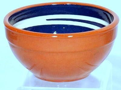 Genuine Terracotta 13cm Breakfastdessert Bowl - Bluecream Set Of 2 by Be-Active