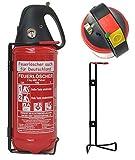 2 kg ABC-Pulver-Dauerdruck-Feuerlöscher DIN EN 3