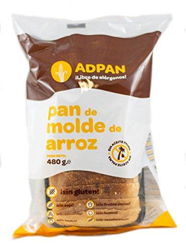 Adpan Plato internacional envasado (Molde de Arroz) - 10 de 48 gr. (Total 480 gr.) - sin gluten
