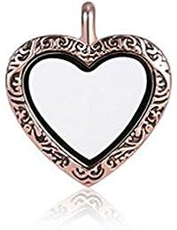 ANDANTE Oro Rosa Cadena Colgante Para Floating Charms flotantes medallones + Traumhandel