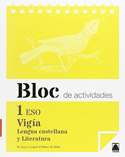 Bloc de actividades. Vigía. Lengua castellana y Literatura 1 ESO - 9788430789856 por Mercè Arce Lasso