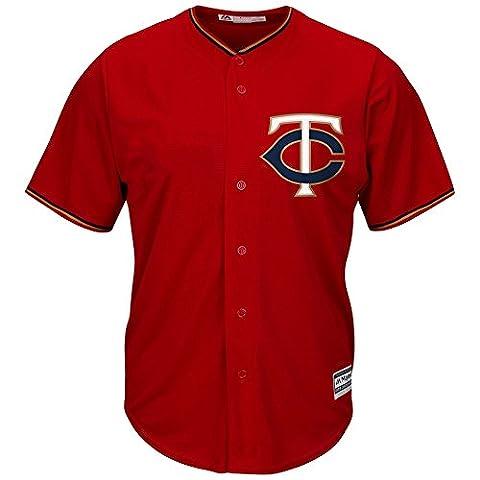 Majestic Minnesota Twins Cool Base MLB Trikot Alternate Rot M