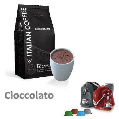 CAFFITALY 96 capsule compatibili Cioccolato Italian coffee
