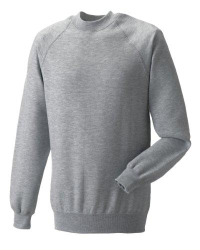 Russell Athletic Herren Sweatshirt Gr. XXL, Light Oxford Russell Athletic-sweatshirt Oxford