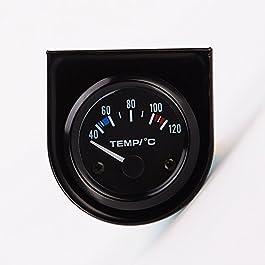 52mm Elettrico Digitale Di Temperatura Dell'acqua Sensore Calibro Di Automobile Termometro per Auto