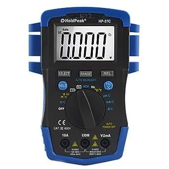 HoldPeak tTAYuan ® 6000 mégahertz écran lCD autorange holdPeak hP - 37