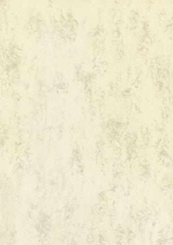 BRUNNEN 105141211 Universalpapier / Multifunktionspapier Marmor (A4, 160 g/m², 25 Blatt, marmoriert) chamois