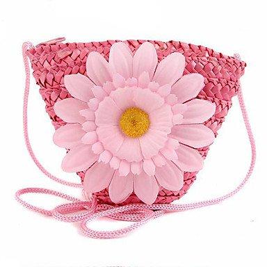 Damen Stroh Alltag Im Freien Büro & Karriere Schulranzen , blushing pink