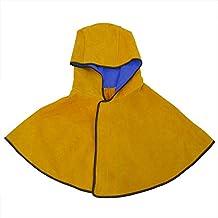 nuzamas soldadura Split Cuero de Vaca campana campana con cuello hombro Drape funda protectora