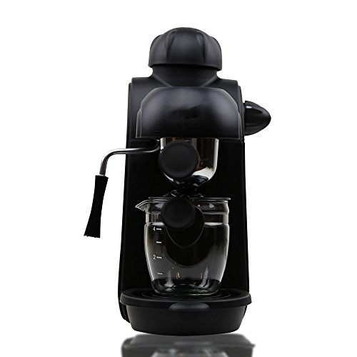 WEDEHANGE Coffee Maker Home Automatic Grinding Milk Maker Coffee Maker American Drip Coffee Maker Automatic Coffee Maker,Black