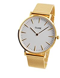 Watch Cluse La Bohème Mesh Gold / White CL18109
