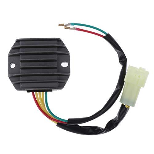 H HILABEE 3-Wire Volle Welle Regler Spannungsregler für Motorrad Honda TRX300FW Voltage Regulator (1993-2000), Hohe Qualitüät -