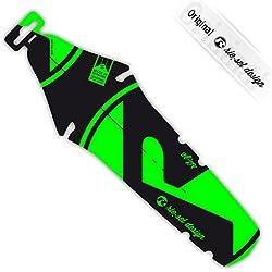 Rie: SEL Diseño guardabarros Sillín Protección antisalpicaduras Ríe: ZE de bicicleta para rueda trasera |road | Fixie | MTB | Triathlon, Bright Green Label 2015
