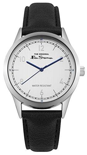 Ben Sherman Reloj Análogo clásico para Hombre de Cuarzo con Correa en PU BS012WB