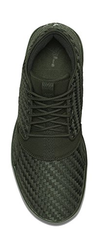Nike Mens Eclipse Chukka Textile Trainers Sequoia/Black