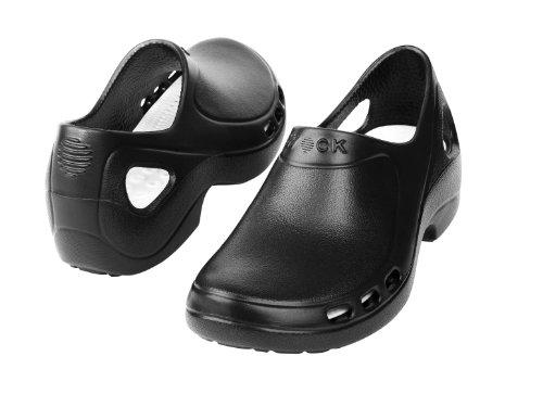 Everlite-Chaussure professionnelle WOCK-Talon fermé ; Ultraléger; Antidérapante; Absorption des chocs Noir