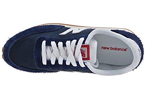 New Balance U410, Bottes Classiques Homme Bleu (Navy)