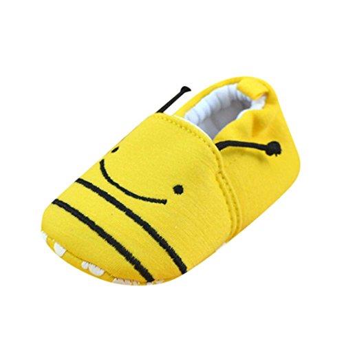manadlian Chaussures Bébé Chaussons pour bébé Soft Slippers,pour 3-12 Mois Bébé