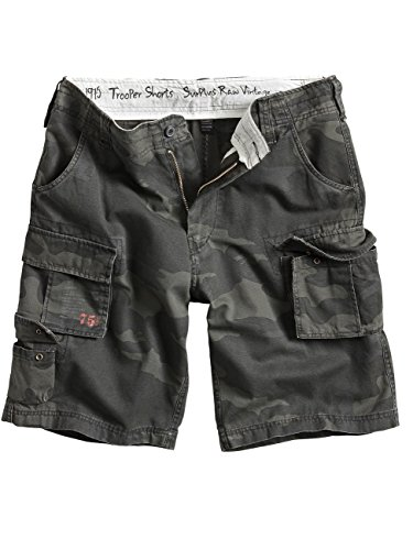 Surplus Herren Shorts Gr. Small, Mehrfarbig - Multicoloured - Blackcamo (Camo Short)