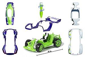 MODARRI 1160-01 - Kit de Montaje para Coche, Color Verde y Lila