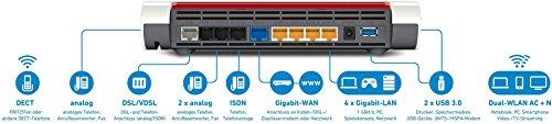 AVM FRITZ!Box 7590 High-End WLAN AC + N Router - 3