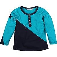 Zunstar Elvis - Sudadera de náutica para niño, Color Azul (Navy/Petrol), Talla UK: Talla 98/104