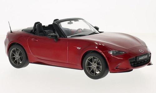 mazda-mx5-rouge-2015-voiture-miniature-miniature-deja-montee-triple-9-collection-118