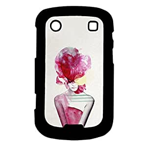 Mobile Cover Shop Glossy Finish Mobile Back Cover Case for Blackberry 9900