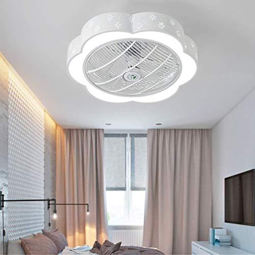 36W LED Ventilador De Techo Habitación De Los Niños Ventilador Silencioso De...