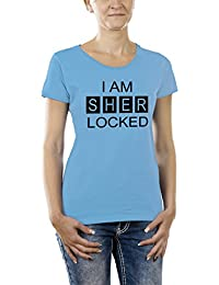 Touchlines Damen Girlie T-Shirt I AM SHER LOCKED