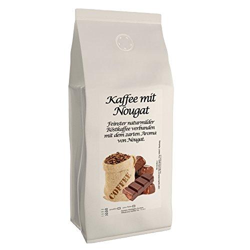 C&T Aromakaffee - Aromatisierter Kaffee Gemahlen - Nougat 200 g - Privatrösterei Spitzenkaffee...