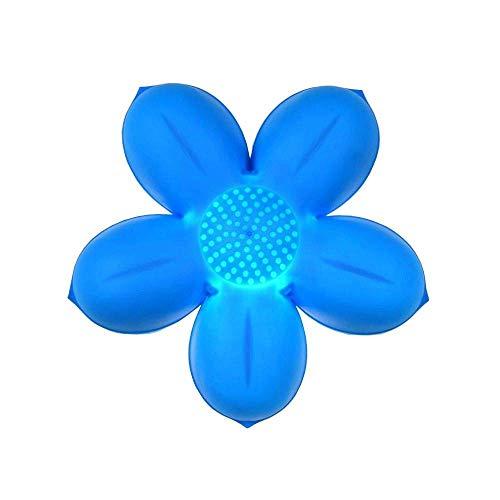 inderzimmer Cartoon Wandleuchten Kreative Baby Zimmer Junge Gril Zimmer Bedsides Wandleuchte Stern Mond Blume Wolke Wandleuchte (Blume-blau) ◀ ()