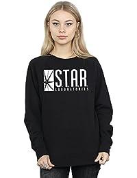 DC Comics mujer The Flash STAR Labs Camisa de entrenamiento