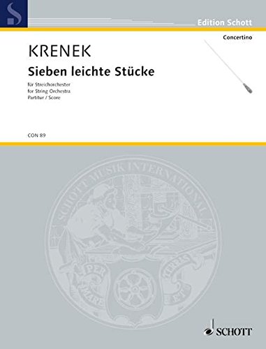 7 leichte Stücke - orchestre à cordes ...