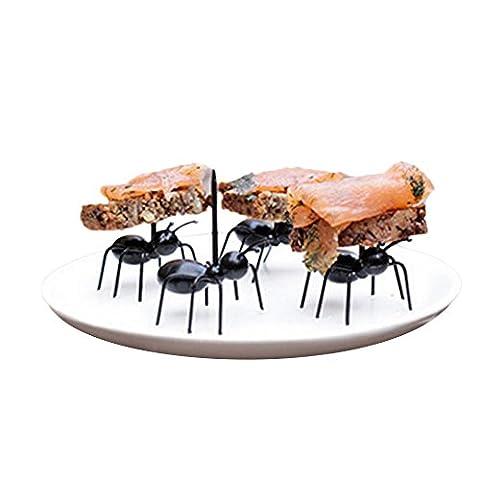 enipate wiederverwendbar ANT Fruit Gabel Neueste mehrere Kuchen Dessert Gabeln