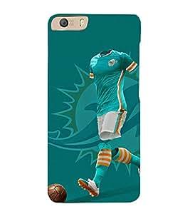 Print Masti Designer Back Case Cover for Micromax Canvas Knight 2 E471 (sportfans ball lover vector clipart)