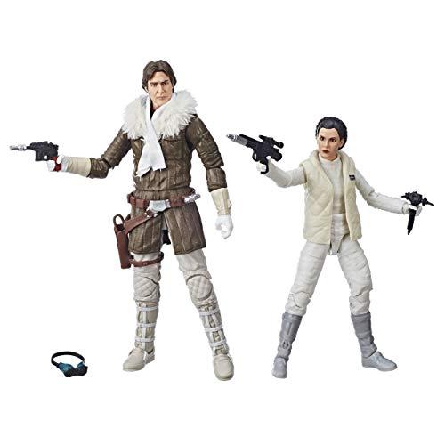 Star Wars Episode V Black Series Actionfiguren 2018 Leia & Han (Hoth) Convention Exclusive 15 cm (Leia Han Und)