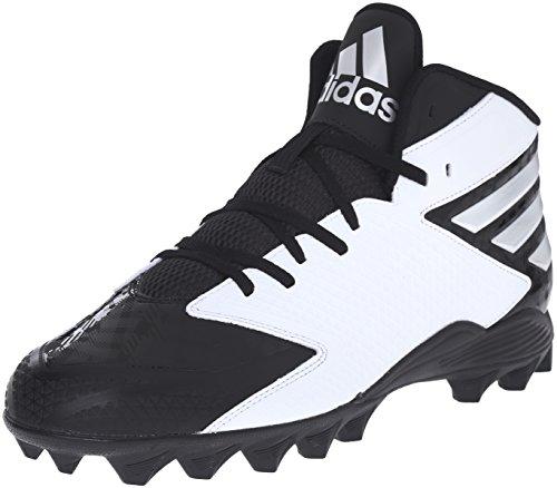 Adidas Freak MD American Football Scarpe, nero, 11.5