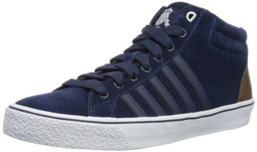 K-Swiss ADCOURT LA MID SDE VNZ 03129-433-M, Sneaker uomo, Blu (Blau (Navy/Cowboy/White)), 40