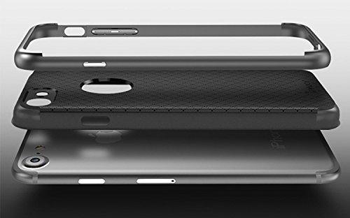 Custodia Originale IPAKY per iphone 7 Cover Bumper Case slim ARMOR neo hybrid IPHONE 7 Oro