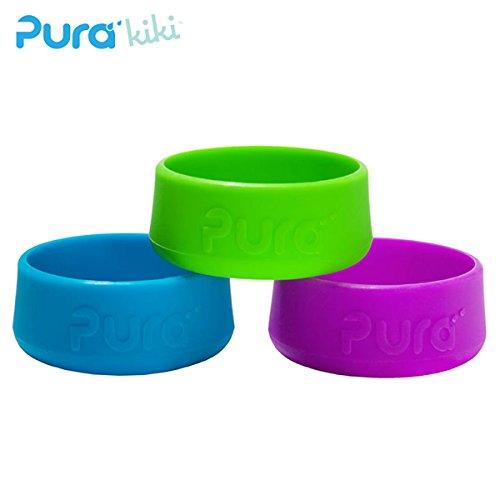 Pura Kiki - Bodenschutz (Bumper) für 150/250/325ml Flaschen Pura Bumper Grün