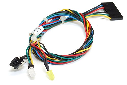 Fujitsu-Siemens T26139-Y3701-V107 Power Switch HDD LED Front Panel Cable/Kabel (Zertifiziert und Generalüberholt) -