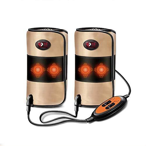 ZFAZF Heizung Legs Wrap, Vibration Knie Massage mit 4 Motor für Knieverletzung Cramps Erholung oder Reduzieren Leg Fat