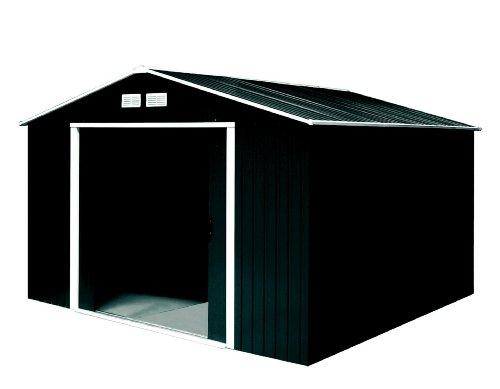 Tepro Gartenhaus / Metallgerätehaus Titan 8x10 anthrazit