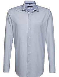 SEIDENSTICKER Herren Hemd Comfort 1/1-Arm, extra lang Bügelleicht City-Hemd Kent-Kragen Kombimanschette weitenverstellbar