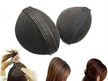 Accesorio de volumen para cabello, color negro
