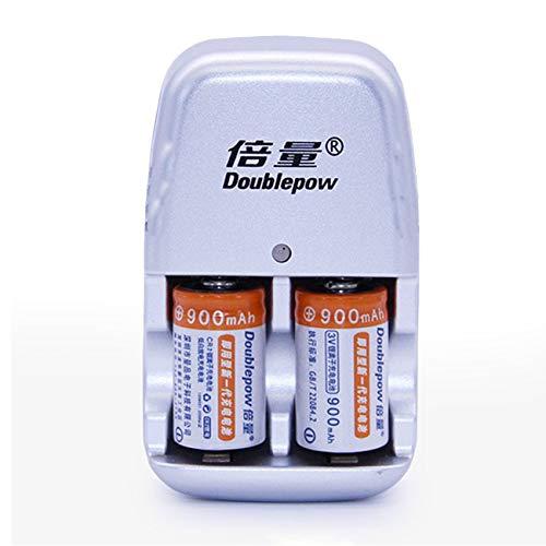 2pcs / Lot 900mAh CR2 Akku Lithium-Batterie mit schnellem Ladegerät JBP-X - Lithium-batterie-ladegerät Cr2