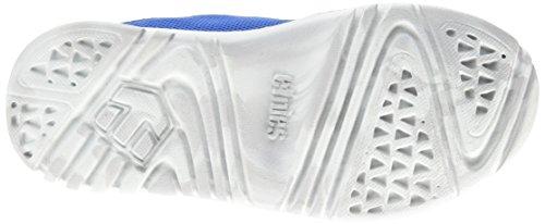 Etnies Scout, Low-Top Sneakers mixte enfant Bleu (Blue/Grey433)