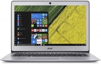 Acer Swift 3 NX.GNXSI.003 14-inch Laptop (7th Gen Intel Core i3 7100U Processor/4GB/128GB/Linux/Integrated Graphics), Sparkly Silver