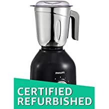 (Certified REFURBISHED) Philips HL7756/00 750-Watt Mixer Grinder with 3 Jars (Black)